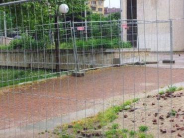 Ogrodzenie tymczasowe placu budowy